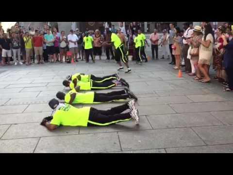 Break Dancing Dancer In Boston Downtown Part 2