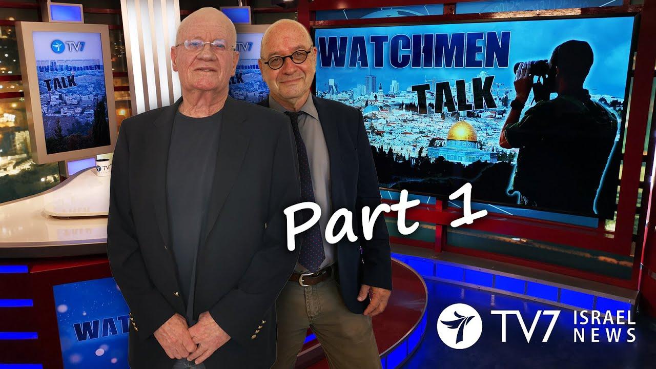 TV7 Israel: Watchmen Talk – Former Mossad Chief & MK, IDF Maj. Gen. (ret) Danny Yatom (Part I)