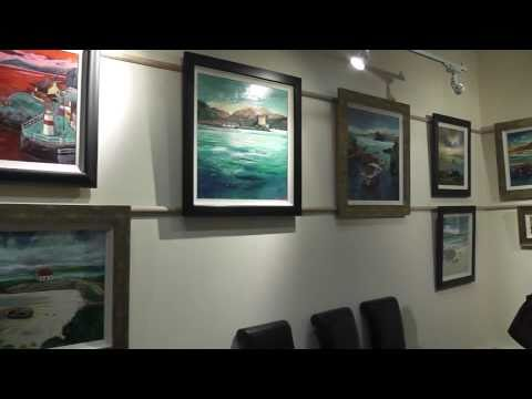 Scottish Landscape Painting Exhibition: Riverside Inverclyde Gallery, Greenock