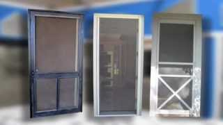 Marin, Sonoma County, CA, screen doors, sliding, swinging, retractable, security, storm, pet, door