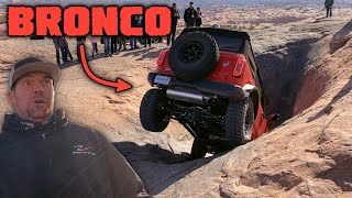 NEW FORD BRONCO ON HELL'S REVENGE - Easter Jeep Safari