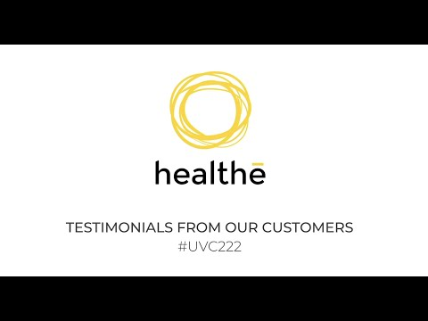Testimonials from some of Healthe's customers