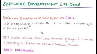 04- What Is Software Development Life Cycle | SDLC In Software Engineering Tutorials In Hindi