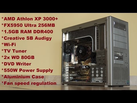 High-end 2003 Gaming PC with FX5950 Ultra: Ep.1 Hardware overview and assembly