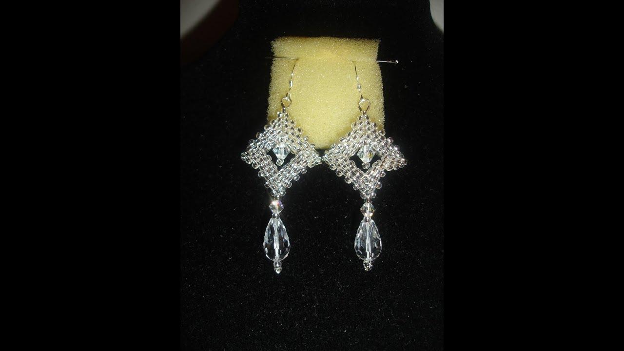 Handmade Jewelry Crystal Window Earrings YouTube