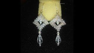 Handmade Jewelry: Crystal Window Earrings