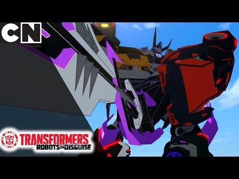 Transformers: Robots In Disguise | Ultimate Decepticon Transformation | Cartoon Network