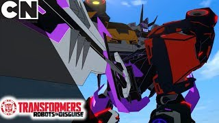 Transformers: Robots in Disguise | Ultimate Decepticon Transformation | Cartoon Network