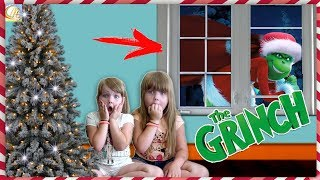 ГРИНЧ в РЕАЛЬНОЙ ЖИЗНИ украл ПОДАРКИ на НОВЫЙ ГОД Дети В ШОКЕ Girl vs grinch! Мерика для детей kids