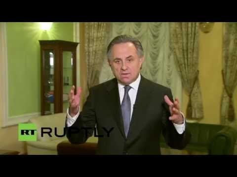 LIVE: Mutko to comment on WADA doping allegations in Moscow (English audio)