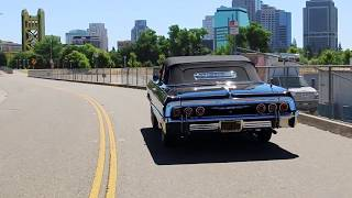 """Midnight Player"" Raj Reddy's 1964 Chevrolet Impala Convertible"