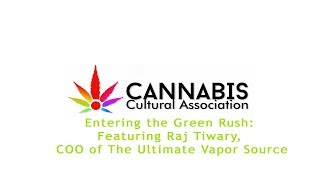 Raj Tiwary x Ultimate Vapor Source CCA's panel recap