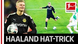 Erling Haaland's Hat-Trick on Dortmund Debut in 23 Minutes