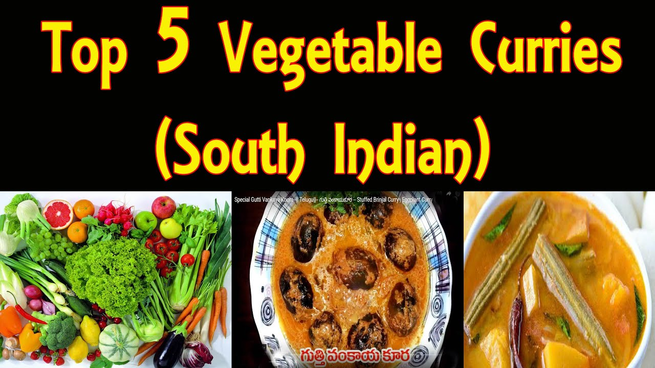 Top 5 vegetable curries for rice south indian youtube top 5 vegetable curries for rice south indian forumfinder Gallery