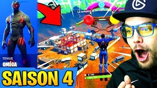 SAISON 4: NEW CITY and SKIN on FORTNITE: Battle Royale!! (12 kills in 3 minutes)