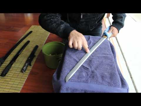 Bugei Sword Polishing PART 1