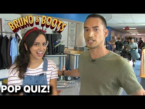 Bruno & Boots POP QUIZ On Set streaming vf