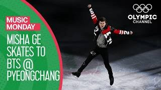 Misha Ge gets his Skate on to BTS at PyeongChang Gala | Music Mondays