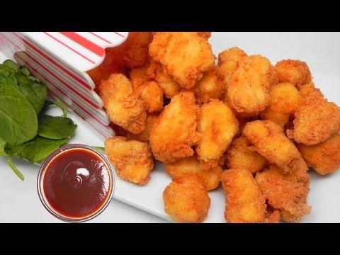 KFC స్టైల్ పాప్ కార్న్ చికెన్ చాలా ఈజీగా ఇంట్లోనే చేసుకొండిలా.. | Livefood Telugu
