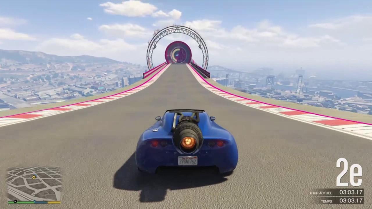 Download Course avec la voiture fusée