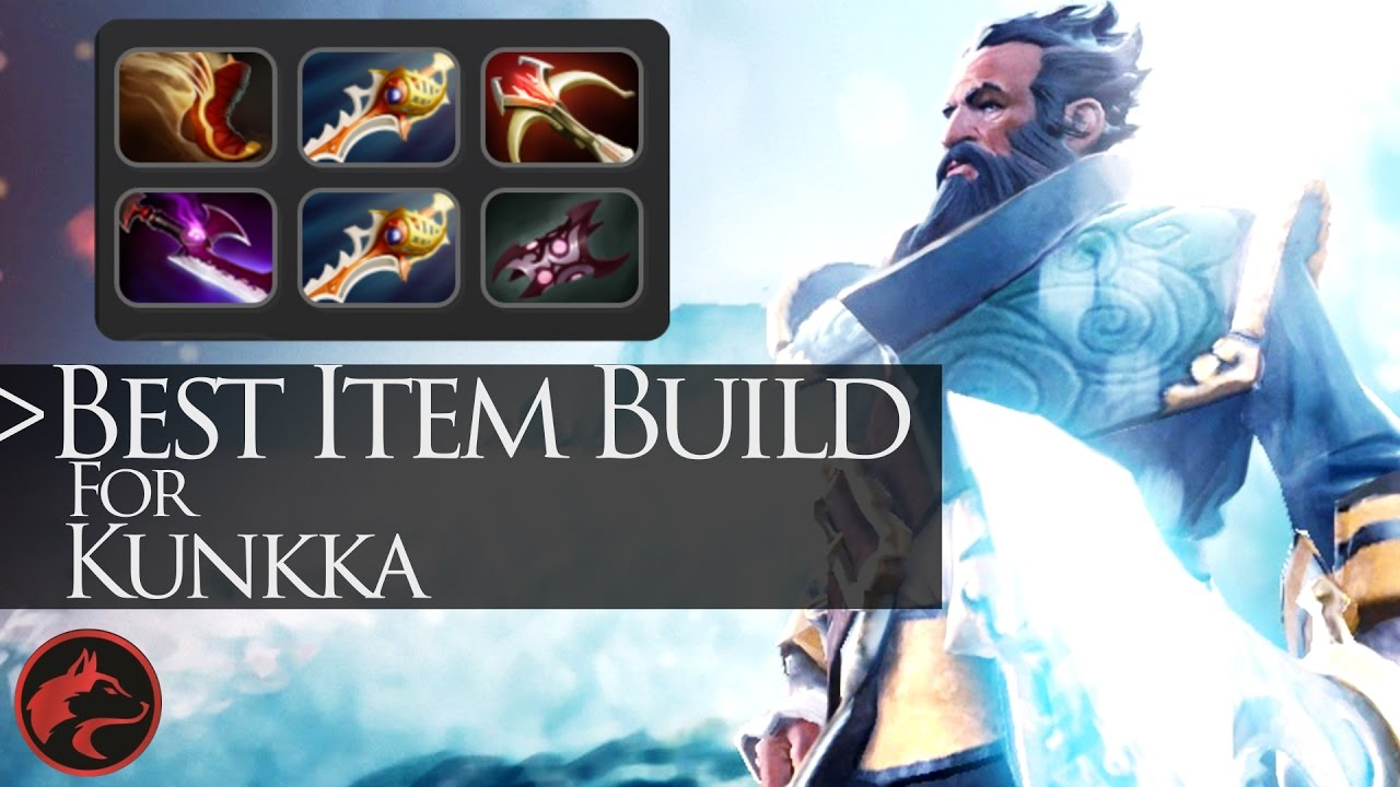 Kunkka Item Build