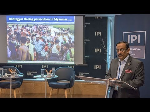 Foreign Secretary of Bangladesh Shahidul Haque Addresses the Rohingya Humanitarian Crisis