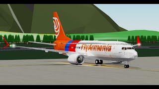 (Abgestürzt) KABINENPERSONAL | FlyArmenia | Boeing 737-800 MAX-8 | ROBLOX