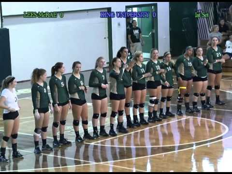 Lees McRae College Women's Volleyball Game vs  King University