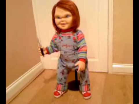 Chucky Doll Prop Replica Medicom Youtube