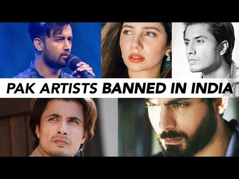 Indian Film Industry Bans Pakistani Actors, Artists | NewsMo