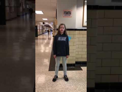 Jewel Jordan and cami food drive video