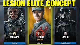 Rainbow Six Siege Lesion Elite Concept R6