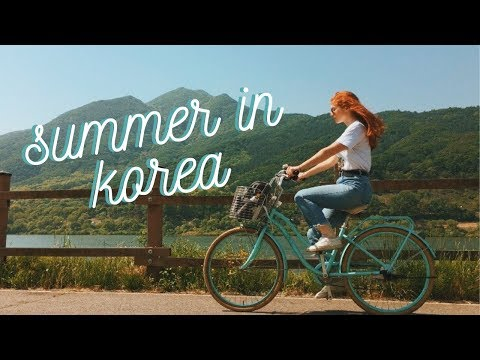 Solo Summer Bike Ride Outside of Seoul | Korea VLOG