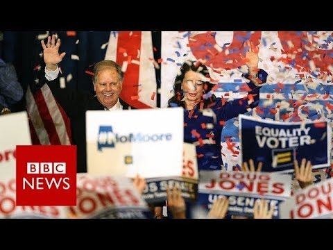 Alabama upset: What Jones victory over Moore means for Trump? - BBC News