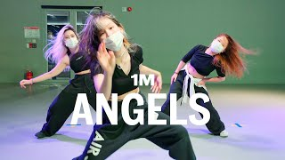 Vicetone - Angels ft. Kat Nestel / Woonha Choreography