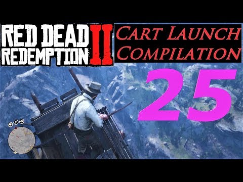 Cart Launch Compilation 25 - Red Dead Redemption 2 thumbnail