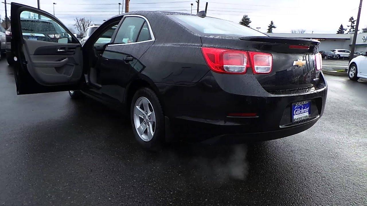 2014 Chevrolet Malibu Black Granite Metallic Stock