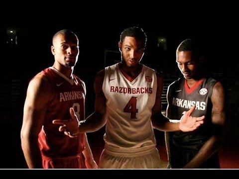 nike air max lebron 8 - 2013-14 Arkansas Nike Elite Basketball Uniforms - YouTube