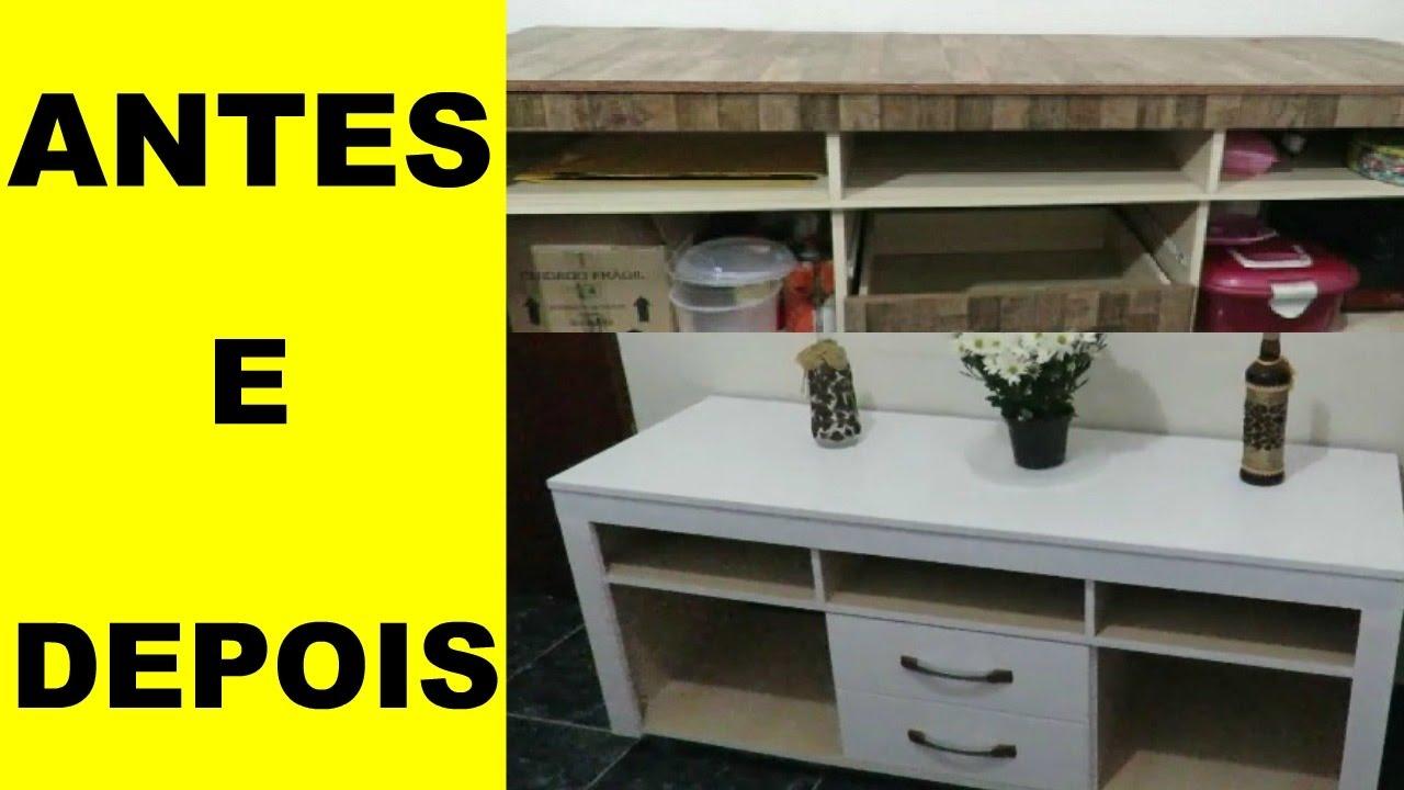 Como pintar reformar um m vel de f rmica youtube for Como pintar un mueble laminado