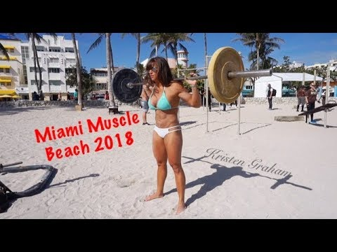Miami Muscle Beach Bikini Workout Motivation
