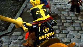 LEGO BLACK KNIGHT DEFENDS HIS LEGO CASTLE! - Lego Marvel Super Heroes 2 Gameplay Part 3