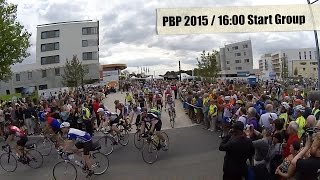 Pbp Paris-brest-paris 2015 Departure Of Sunday Start Groups