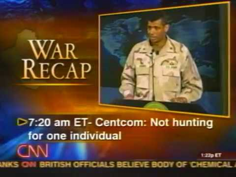 News - Part 2 - Tape 7 - Iraq War - Searching for WMD - 8 Ap