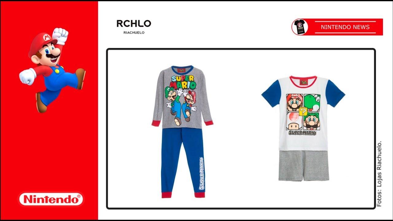 Riachuelo lança coleção inspirada em Super Mario Bros. - YouTube 63386304a99