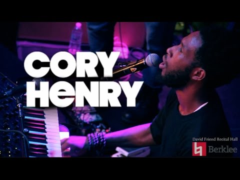 "Cory Henry & The Funk Apostles - ""Inner City Blues"" - Live at Berklee's David Friend Recital Hall"