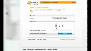 Как пользоваться онлайн-сканером avast!