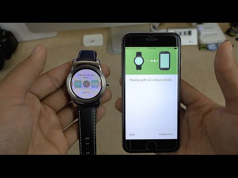 How To Use Android Wear On IOS!