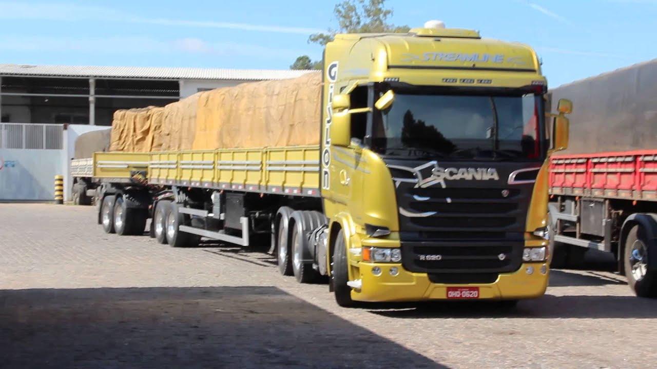 Exceptionnel Scania Streamline R620 V8 da Gislon Transportes - YouTube CQ64