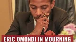 Sad this morning at 3am as Eric Omondi loses his brother Joseph Omondi