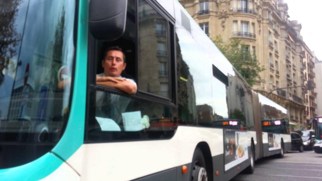 la rentr e parisienne un chauffeur de bus grille youtube. Black Bedroom Furniture Sets. Home Design Ideas